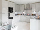 Stylish kitchen with integrated appliances