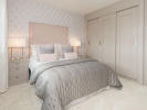 Beautiful double bedroom with en-suite shower room