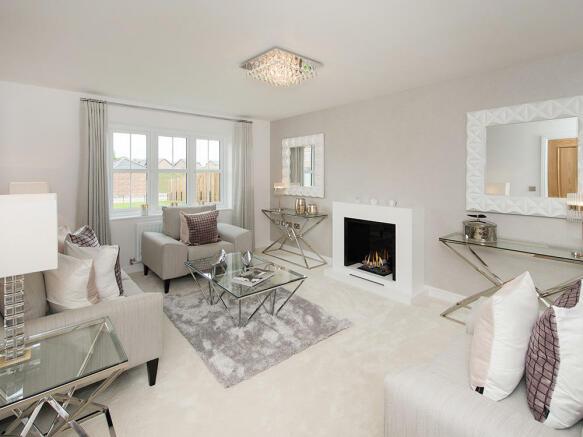 Large separate lounge