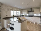 Beautiful fully integrated kitchen/dining area
