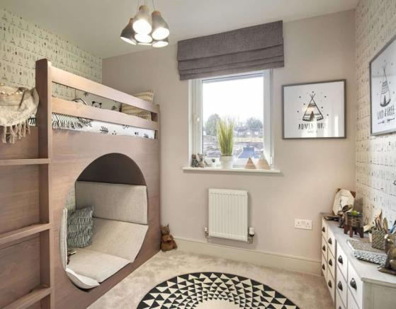 Lawrie Grand Bearsden kids bedroom 2