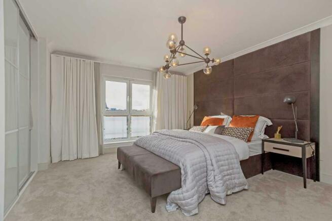 Ivory Master Bedroom
