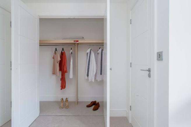 Wardrobes Bed 1