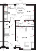 Craigend Ground floor plan