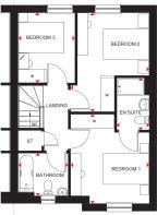 Craigend first floor plan