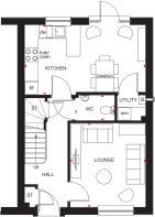 Traquair ground floor plan