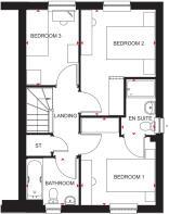 Traquair first floor plan