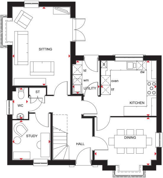 Avondale Ground Floor