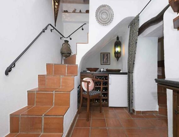 Casa Escondida Stair