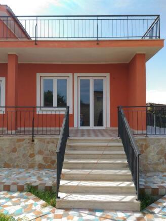 Entrance from garden