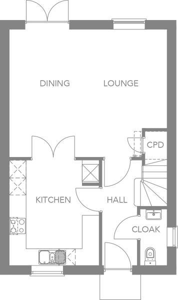 Gound Floor Plan