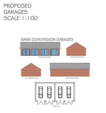 Proposed Barn Garage