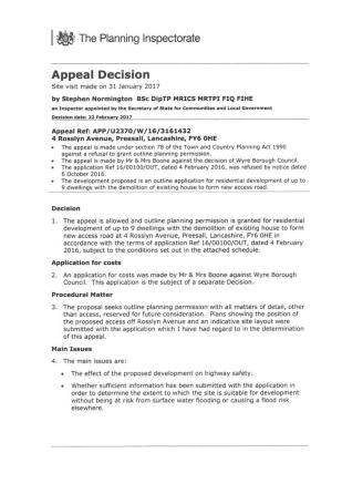 Planning Documents 1