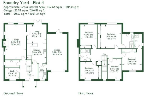 Floorplan Plot 4