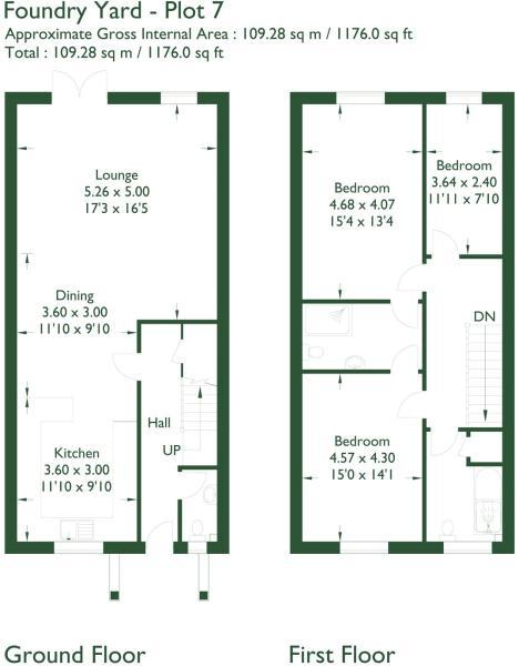 Floorplan Plot 7
