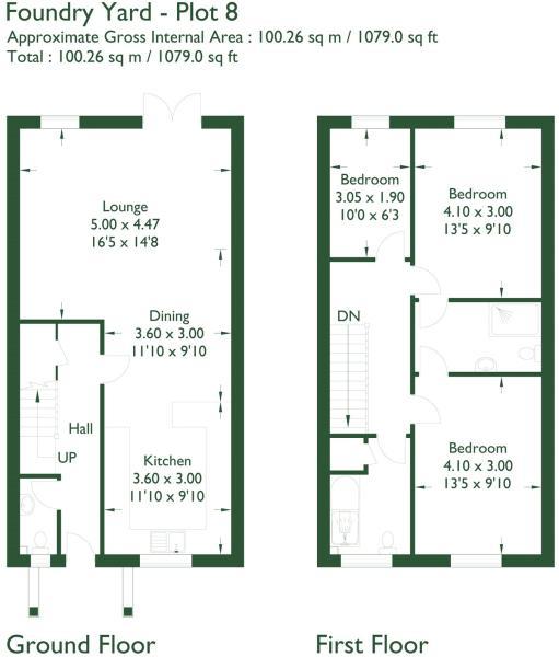 Floorplan Plot 8