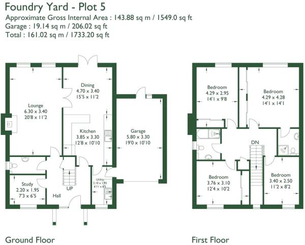 Floorplan Plot 5
