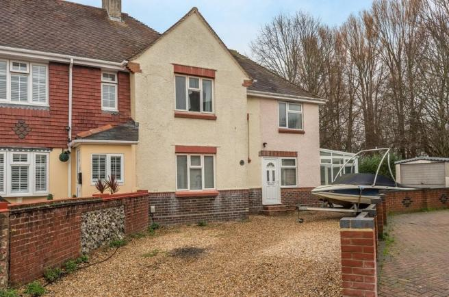 3 bedroom end of terrace house for sale in portsmouth, hampshire, po6