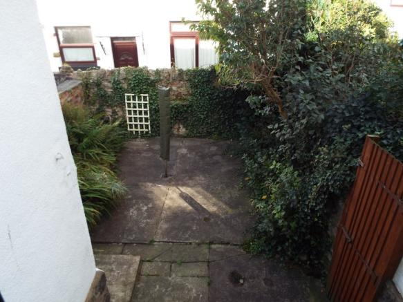 Patio Rear Garden