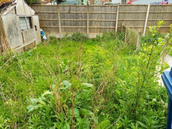 Divorced Rear Garden