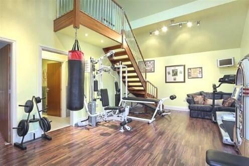 Gym Area.