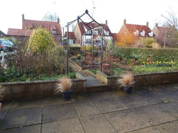 Outside front garden