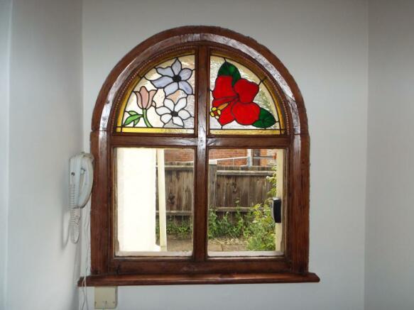 Window in porch