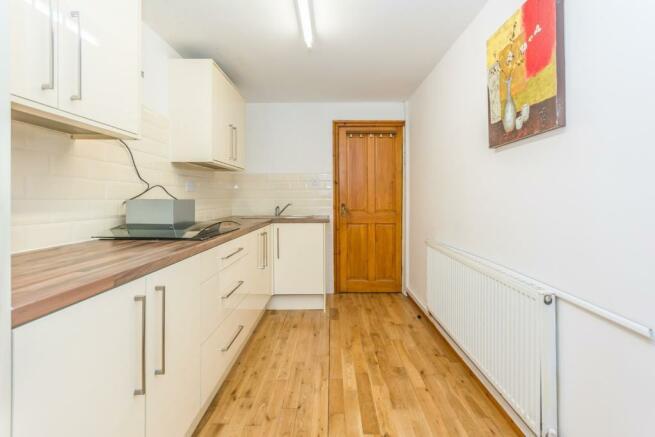 Kitchen In Extension