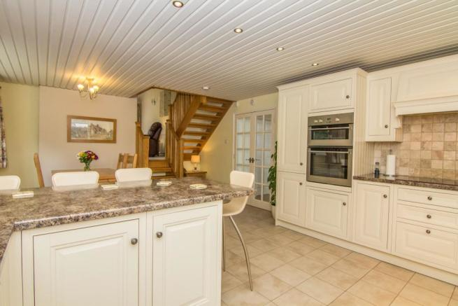 Refitted kitchen and