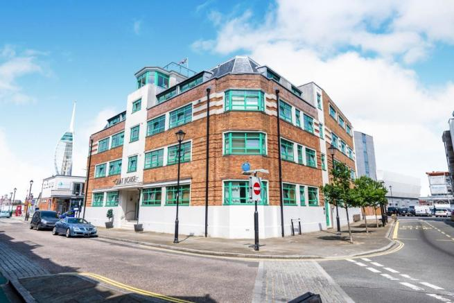 1 bedroom flat for sale in the old pilots office, seagers court, southsea, portsmouth, po1, po1