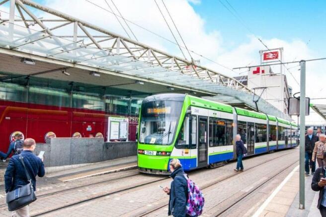 Eadt Croydon Tram Se