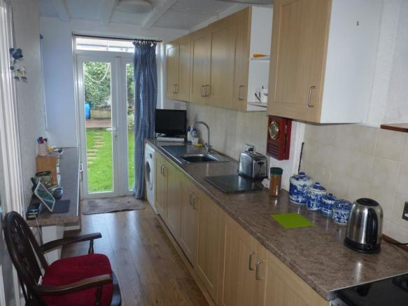 Extended Kitchen Rea