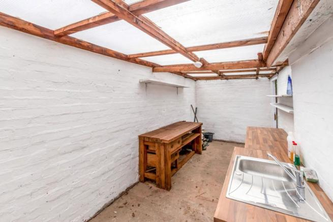 Converted garage spa