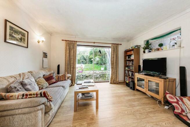 living area in open