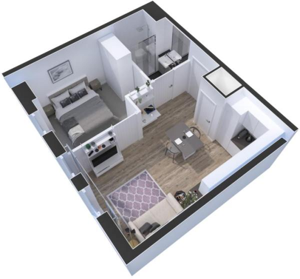 Typical 1 Bed