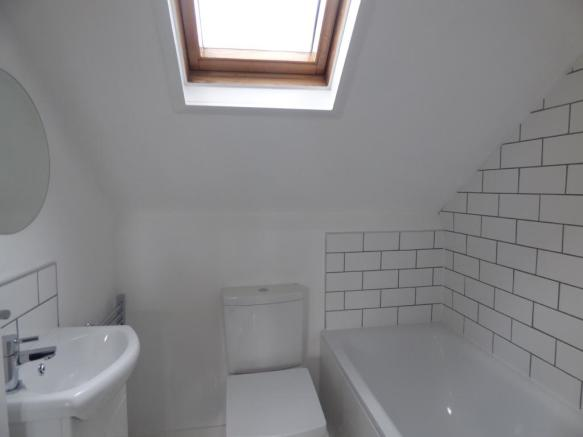 Bathroom on second f