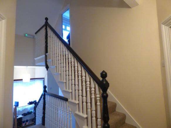Stairs to fourth bed