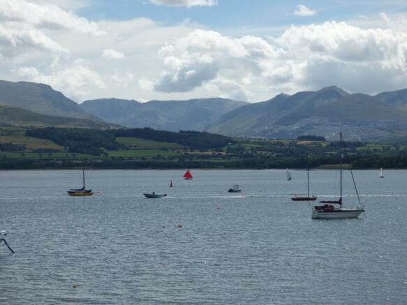 View to Snowdonia