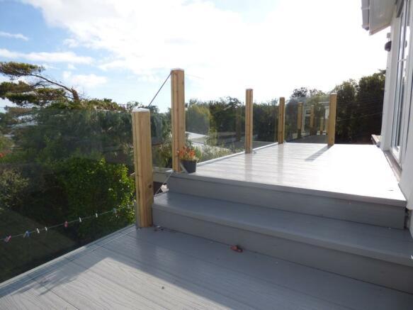Rear Balcony/Veranda