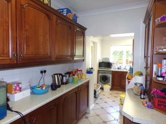 Kitchen Through Room