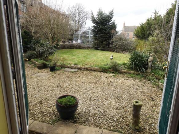 Garden From Kitchen