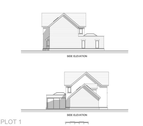 P1 Side Elevations