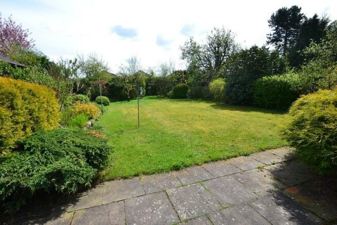 Rear garden (view...