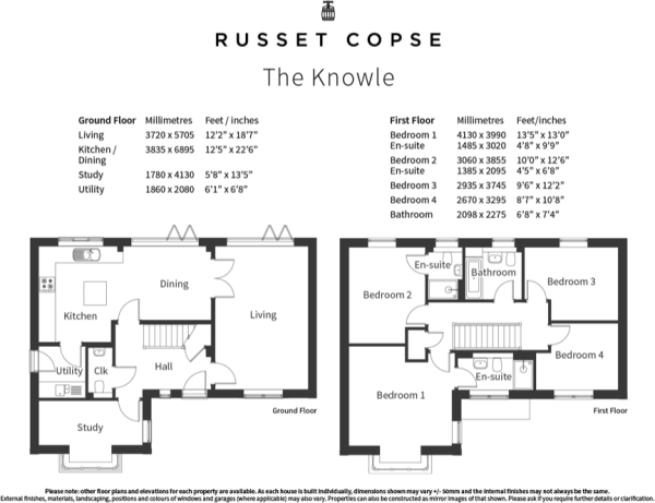 The Knowle floorplan