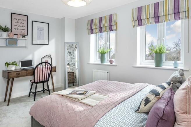 New Saxon Mills bed 3