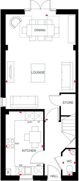Woodcroft Ground floor
