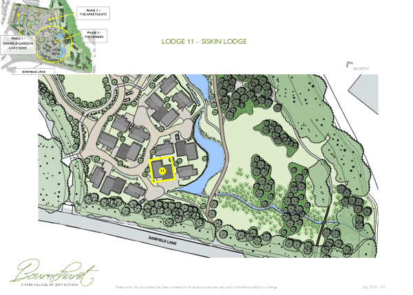 Lodge Location Plan