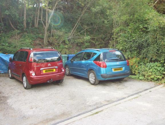 Parking at Back for Two Cars
