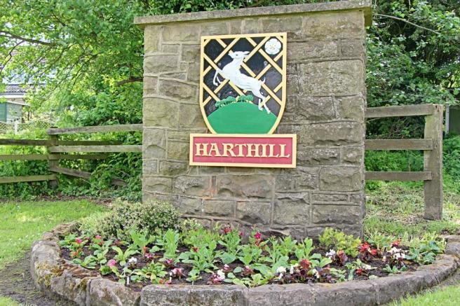 Harthill Village Plaque
