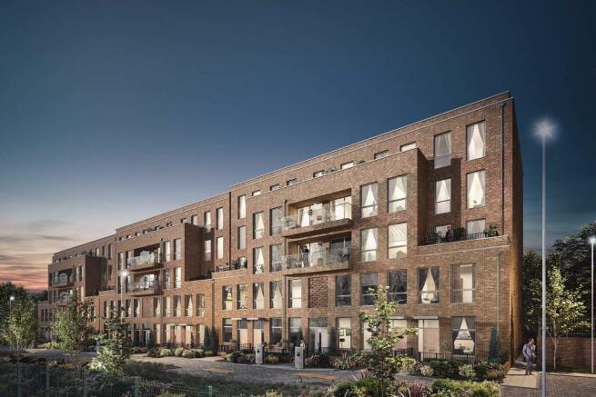 Verde apartments CGI